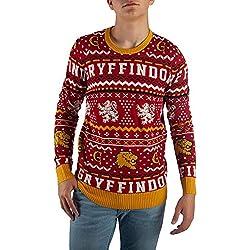 Harry Potter Gryffindor Unisex Ugly Sweater Medium