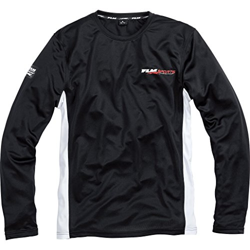 FLM Langarmshirt, Funktionsshirt Funktionsshirt Langarm 1.0 schwarz 3XL, Herren, Multipurpose, Ganzjährig, Baumwolle (Cruiser Bike Shirts)