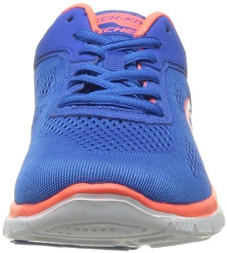 Skechers Flex Appeal Love Your Style, Chaussures de fitness femme Bleu (Blcl)