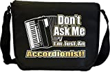 Accordion Dont Ask Me - Sheet Music Document Bag Sacoche de Musique MusicaliTee