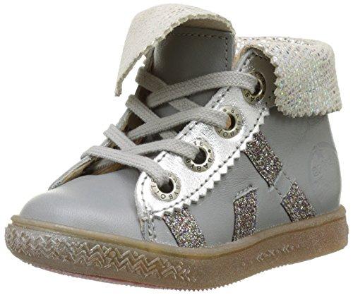 BabybotteArtimiss - Pantofole a Stivaletto Bambina , grigio (grigio), 26 EU