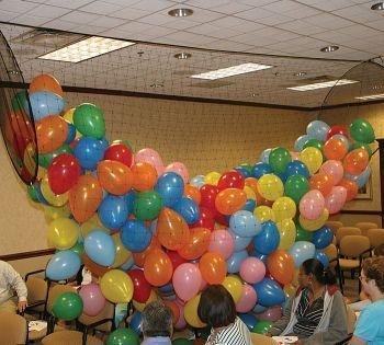 (Ballon Release oder Drop Net, hält 50022,9cm oder 25027,9cm DN-1000 weiß)