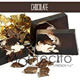 Seifenstück, handwerkliche 80g–Schokolade–Seife mit Olivenöl und Mandelöl Weich