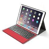 iPad Pro 9.7 Teclado Estuche, Jelly Comb Inalámbrico Bluetooth Keyboard Case English QWERTY Layout...