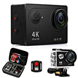 Best Action Cameras - 4K Action Cameras Sport Waterproof Camcorder - FITFORT Review