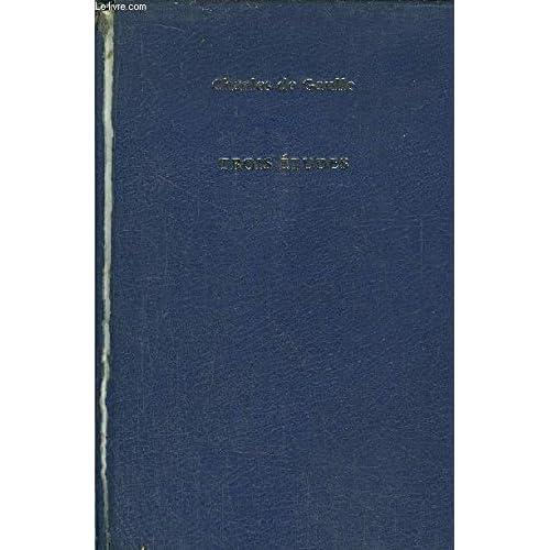 Trois études, précédées du mémorandum du 26 janvier 1940.