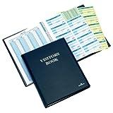 Durable Besucherbuch Leder-Optik 300 Namensschilder 90x60mm