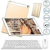 Tablet 10 Pulgadas 3GB+32GB, Octa Core,Android 7.0, Dual SIM, 3G Tableta de función de Llamada ,...