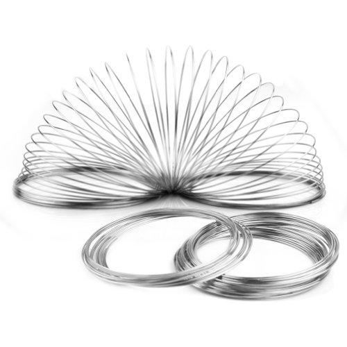 100 Windungen Speicher Draht Memory Wire Spiraldraht Schmuckdraht für - Form-memory-draht
