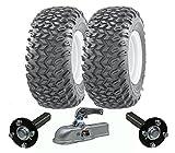 Hochleistungs-ATV-Anhänger-Kit - Quad-Anhänger - Wanda-Räder + SteelPress-Produktion Naben- / Achsschenkel-Achsen, Gussteil schwerer Hochleistungs-900kg