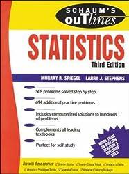 Schaum's Outline of Statistics by Murray R. Spiegel (1999-07-01)