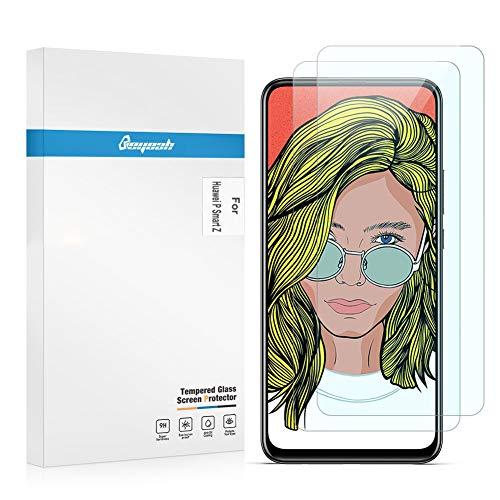 Beyeah [2 Stück] Panzerglas Bildschirmschutzfolie für Huawei P Smart Z Panzerglas, [9H Härte] [Anti-Kratzen] [Anti-Öl] [Anti-Bläschen]