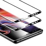 ESR Samsung Galaxy Note 9Protection d'écran en verre trempé Noir (2-Pack)