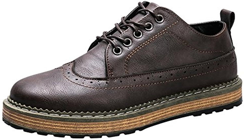 Jiuyue-scarpe, 2018 Scarpe casual da uomo basse basse Oxford Sportive fino alla taglia 44EU Scarpe Uomo Pelle (...   Materiali Selezionati Con Cura    Uomini/Donne Scarpa