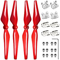 9450S Propellers for DJI Phantom 4, FineGood 2 Pairs (4 pcs) of Propellers for Drone Quadcopter Helicopter - Red from FineGood