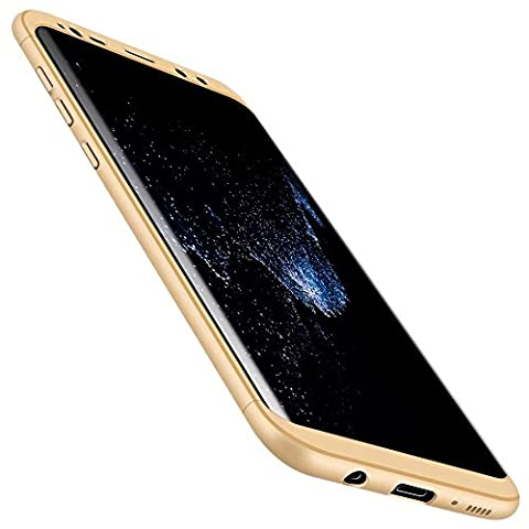 Coque pour Huawei mate9 MUTOUREN Soft TPU gel phone case Anti-choc Housse Etui Anti Rayure Protection à 360 degrés phone Case Nouveau style- Or