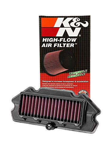 k&n ka-6512 high performance replacement air filter for kawasaki ex650r ninja K&N KA-6512 High Performance Replacement Air Filter for Kawasaki EX650R Ninja 51MEtbJR1kL