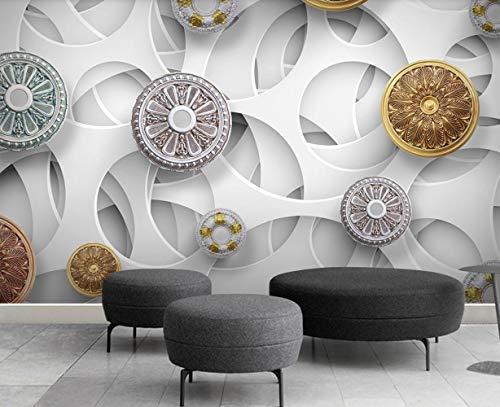 Fototapete 3D Tapeten Wandbilder Die Europäische Moderne Mode - Hintergrund - Wand Benutzerdefinierte Größe Tapete
