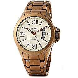Esprit Gents Watch Wega Fortis Gold ES101311704