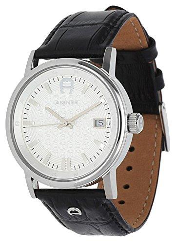 Aigner Herren Armbanduhr Linate schwarz A32186