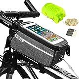 Bolso del sostenedor del teléfono de la bicicleta, bolso del marco de la bici de Weeygo Tubo...