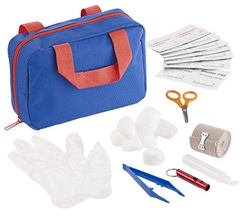 Sweetypet Verbandkasten: 32-Teiliges Erste-Hilfe-Set für Hunde mit Transport-Tasche (Hunde-Verbandskasten)