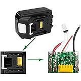 Rishil World 18V 3.0Ah Lithium Battery Protection PCB Board For Makita BL1840 BL1815 BL1830