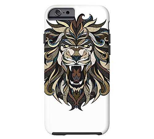 angry-lion-iphone-6-white-tough-phone-case-design-by-fskcase