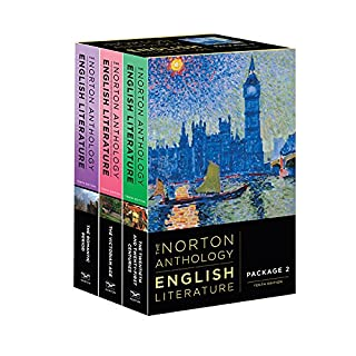 The Norton Anthology of English Literature - 3 volume set: D E & F