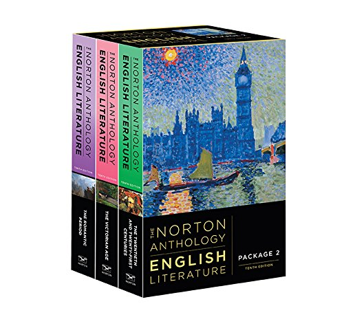 The Norton Anthology of English Literature – Package 2, 10th Edition