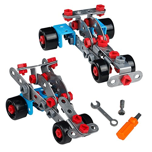 Spielzeug Auto Rennwagen Modell Auseinander Kombination Geländewagen Nehmen Kreatives Geschenk ab 3 4 5 6 7 Jahren (Für Ab Jahren Kinder 10 Auto)