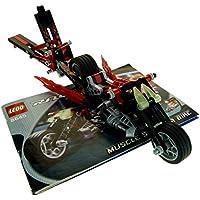 1 x Lego Technic Panele rot Verkleidung 13 Seite A gross kurz glatt Fairing # 13