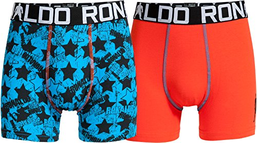 CR7 Cristiano Ronaldo Boys Boxershorts Jungen 2-Pack (CR7-8400-5100-482-134/140)