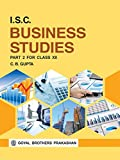 ISC Business Studies Part 2 for Class XII
