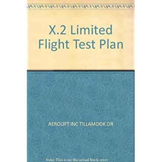 X.2 Limited Flight Test Plan