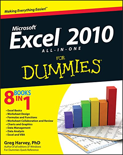 Excel 2010 All-in-One For Dummies (For Dummies Series) por Greg Harvey