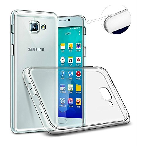 Efonebits(TM) Crystal Clear Hot Transparent Premium Soft Silicone Back Case Cover For Samsung Galaxy C9 Pro  available at amazon for Rs.125