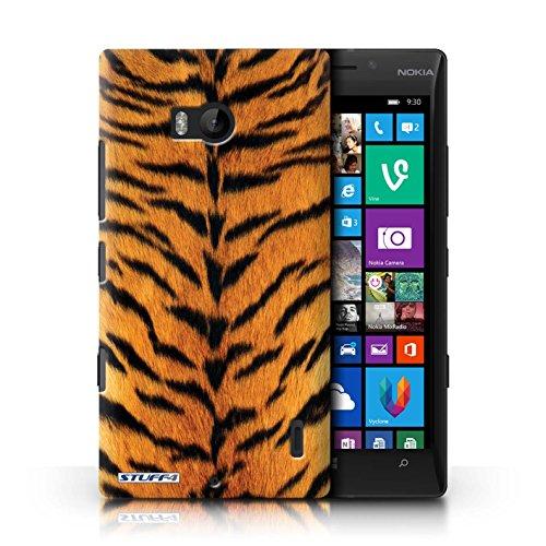 Kobalt® Imprimé Etui / Coque pour Nokia Lumia 930 / Zèbre conception / Série Motif Fourrure Animale Tigre