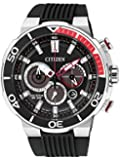 Citizen Herren-Armbanduhr Chronograph Quarz Kautschuk CA4250-03E