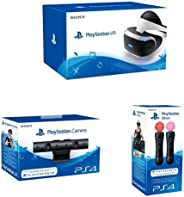 Sony PlayStation VR + New Sony PlayStation 4 Camera + Sony PlayStation Move Motion Controller - Twin Pack (PS4