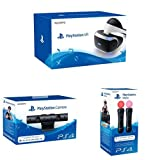 Sony PlayStation VR + New Sony PlayStation 4 Camera + Sony PlayStation Move Motion Controller - Twin Pack (PS4/PSVR)