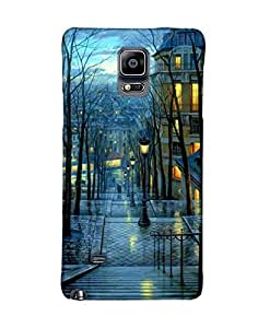 Pick Pattern Back Cover for Samsung Galaxy Note 4 SM-N910H (MATTE)