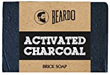 Beardo Activated Charcoal Brick Soap - 1...