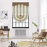 AMON LL Tapparella Parasole per Finestre, Tende Cieche/Protezione Solare Windowsill/Tendine Pieghettate A Pizzico,w150cm