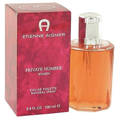 Etienne Aigner Private Number by Etienne Aigner Eau De Toilette Spray 3.4 oz / 95 ml