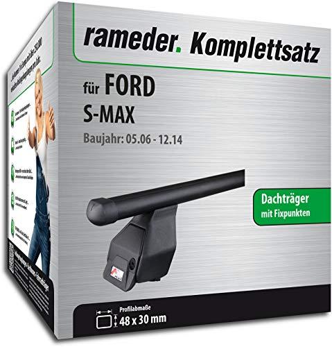 Rameder Komplettsatz, Dachträger Tema für Ford S-MAX (118794-05542-1)
