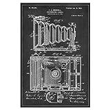 artboxONE Poster 30x20 cm Retro Retro Fotoapparat Patent Hochwertiger Design Kunstdruck - Bild Retro von Artkuu