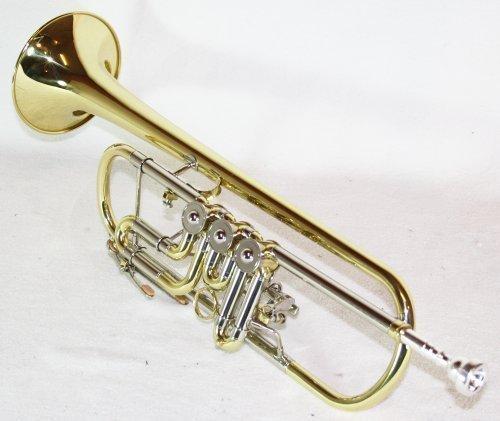 Bb Konzert Trompete mit Koffer, Drehventile!