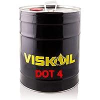 Lubrificanti Viskoil VISKDOTIV20LT 20 Litres Liquide de Frein Dot IV