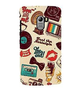 Print Masti Designer Back Case Cover for Lenovo Vibe K4 Note :: Lenovo K4 Note A7010a48 :: Lenovo Vibe K4 Note A7010 (Television Redio Goggle Casette )